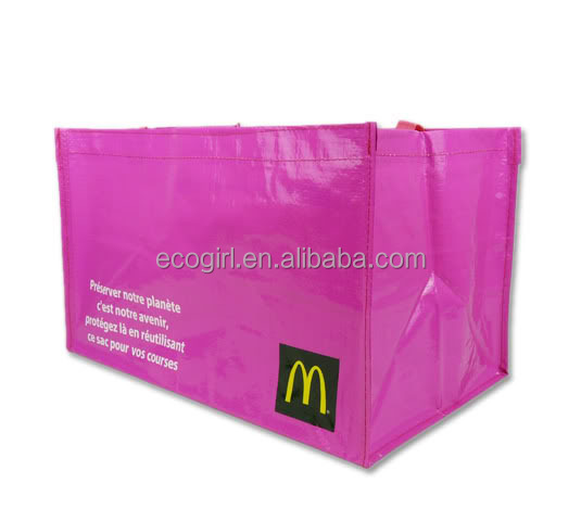 2017 factory offer customized BOPP laminated gravure offset printing polypropylene vietnam pp woven shopping bags