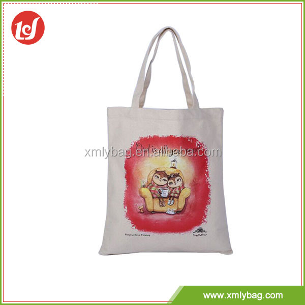 Most popular logo printed promotional cheap logo shopping bags