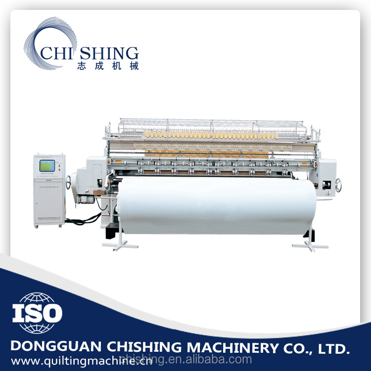 Latest products computerized shuttleless multi needle quilting machine buy from alibaba