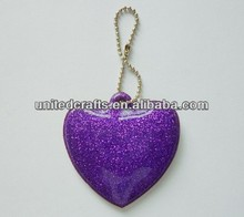 stylish custom made keychains heart shape sweet giveaways