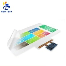 Hot sale 43&quot; plastic film touch screen with 2, <strong>10</strong>, 20, 40 touch points