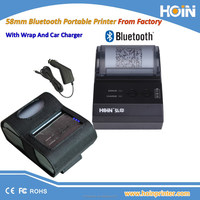 Food Delivery 58mm Portable Thermal Printer Android Bluetooth Receipt Printer