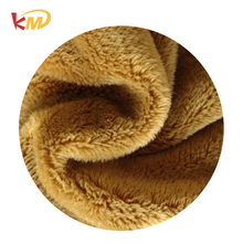 China flame retardant tightly woven super soft plush fabrics material