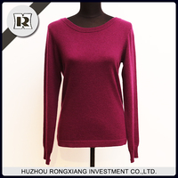 Newest cashmere pullover sweater designs for ladies