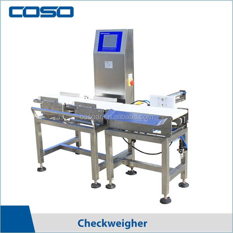 Automatic online weight checking machine price made in China