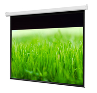 4:3 Matte White projector screen tensioned