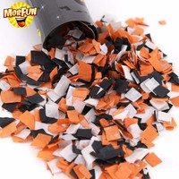 Cheap Sale Rectangle Tissue Paper Halloween Party Confetti Popper