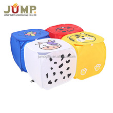 Foldable colorful dirty clothes storage bag laundry bag laundry basket folding laundry bag with logo