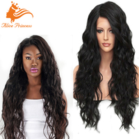 NEW 100 Percent Unprocessed Human Hair Full Lace Wig With Baby Hair Brazilian Virgin Hair Glueless Loose Curly Wave Wig