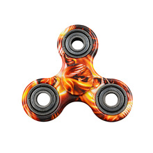 2017 new design spinner fidget and Fidget cube Anti Stress Tri Hand Fidget Spinner