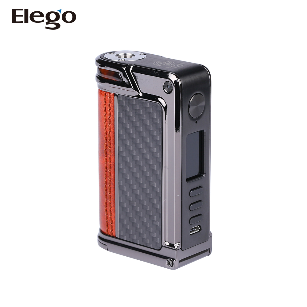 2017 Elego Red, Pearl Fish, Red Raptor Standard Leather Lost Vape Paranormal DNA 75C Box Mod