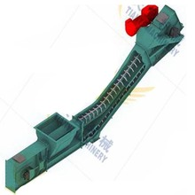 Professional wear resistant heat resistant enclosed scraper conveyor for ash handling system
