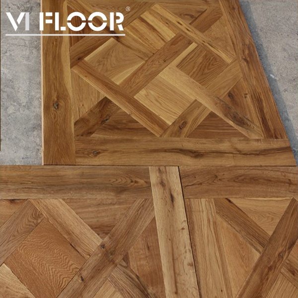 Stained Hand Made Prefinished Parquet Flooring