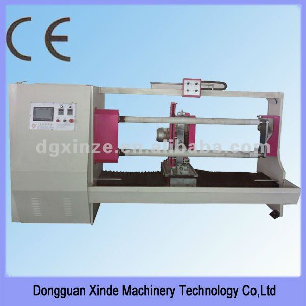 XZ-703 Aluminum/Copper Foil Cut Off Machine Manufacturer