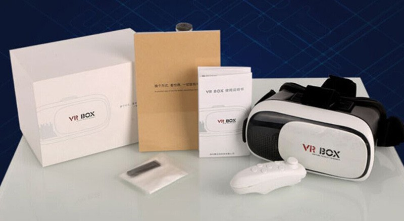 vr glasses box headset 3d Movies Games self-developed