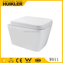 wc toilet P trap cheap wall hung toilet paper