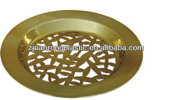 Hollow out design Plastic fruit tray
