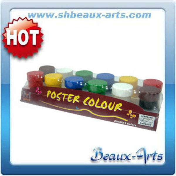 12 color 20ml wall painting water in acrylic