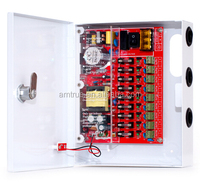 DC 12V 5A 9CH - Integrate SECURITY SYSTEM 9 outputs CCTV POWER SUPPLY