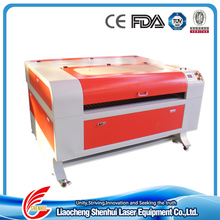 Shenhui laser 15mm mdf laser cutting machine for fabric /leather/clothes