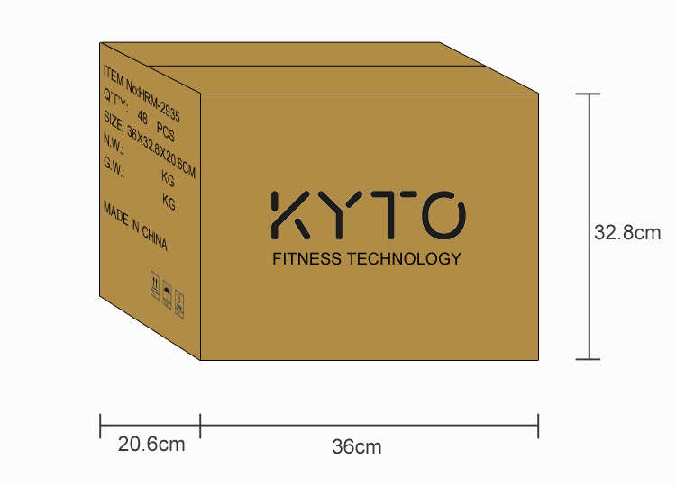 KYTO original bluetooth mobile heart rate monitor with ear clip