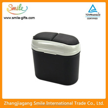 Creative fashion cute car waste can plastic trash bin