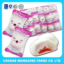 factory price cotton candy jelly filled marshmallow with fruit jam