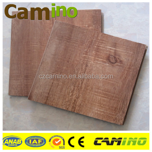Most popular 12mm white oak plastic laminate flooring made in China