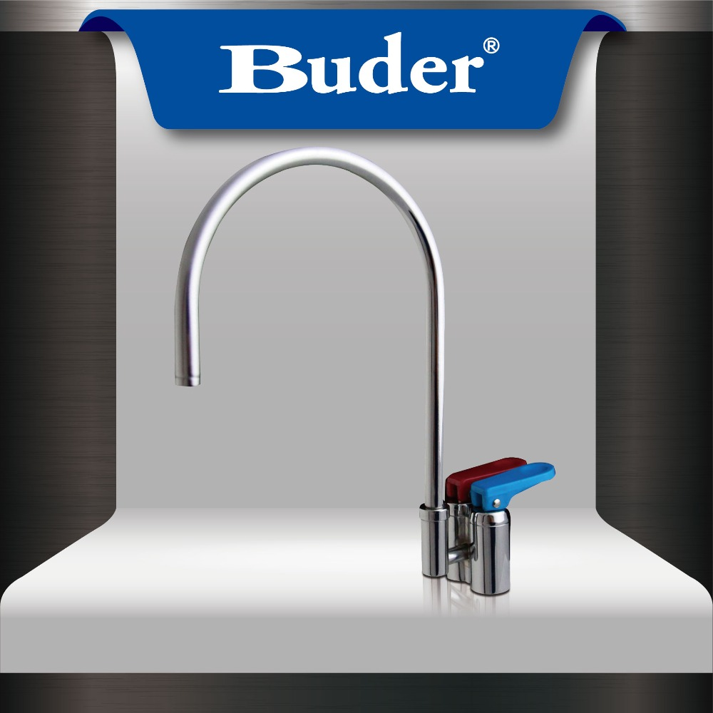 [ Taiwan Buder ] Hot selling Chrome Hot/Ambient Kitchen Faucet