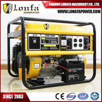 Lonfa (China Supplier) Honda GX390 13HP Engine 7KW Gasoline Generator Electric for Venezuela