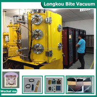 plastic gold plating machines for vacuum metalizing/glass metalizing sputtering machine