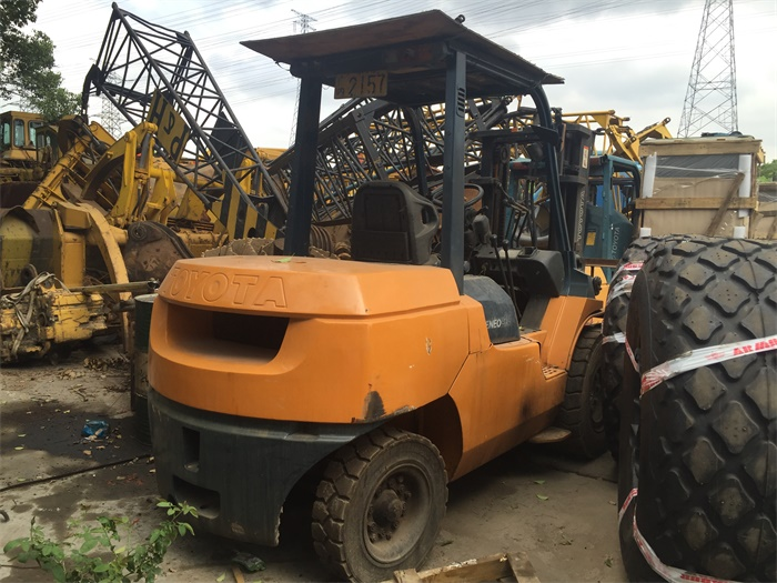 good quality japan original 5 ton toyota 5ton used forklift FD50 for sale