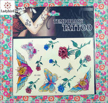 non-toxic custom glitter body temporary tattoo