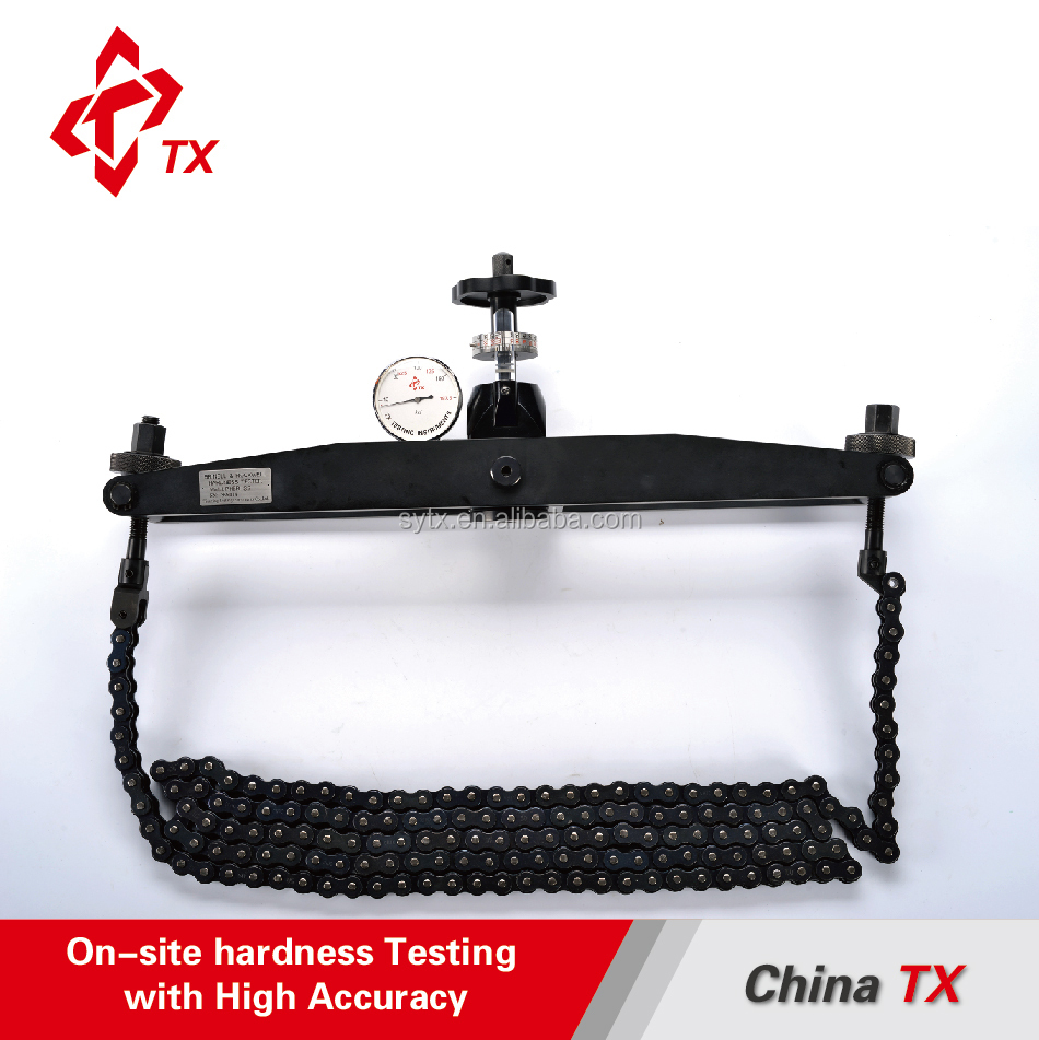 China TX PHBR-32 Chain Type Portable Brinell and Rockwell Metal Hardness Testing Instrument