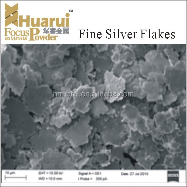 conductive electrode material of ultra fine Ag flake