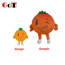 Popular Colorful Stuffed Plush Children's Plush Fruit Toys
