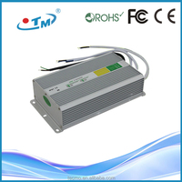 12 volt 20 amp led power supply, constant voltage ip67 waterproof ac dc converter for led light with CE,FCC