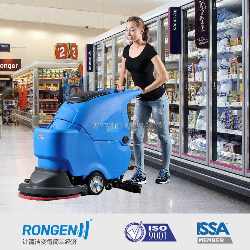 walk behind electric industrial floor scrubber, sweeper R50B