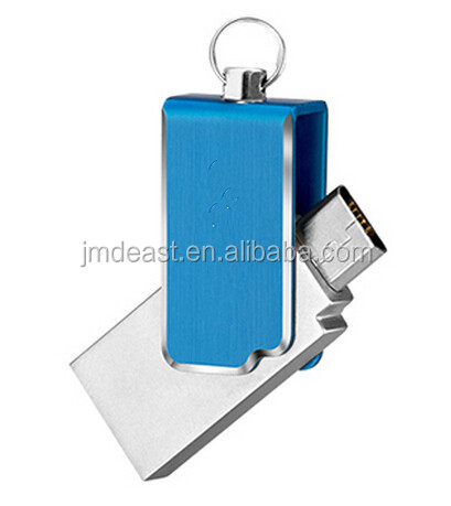 Wholesale portable mobile phone OTG usb flash Pendrive from china factory