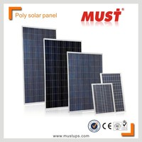 MUST China manufacturer,Solar modules price 100w / 200w / 250w / 300w Poly crystalline Solar panel