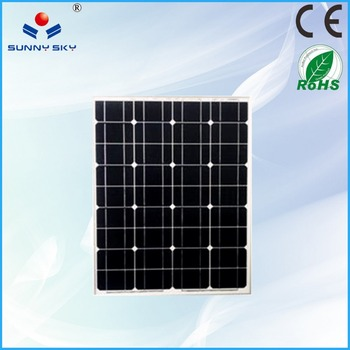50w Small Flexible Solar Panel Price With 36 Solar Cell