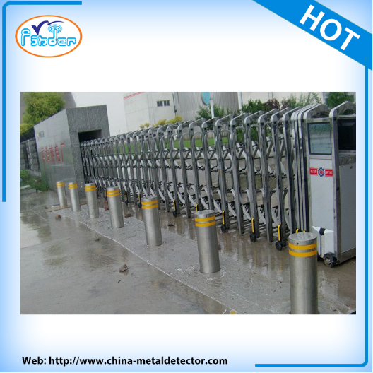 Roadway Safety hydraulic bollards with remote control Road Barrier