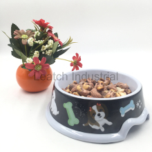 100% Melamine Pet Bowls For Dogs Cats Food Feeder Water Container