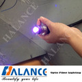 light fiber optic tube end cap for starry lighting