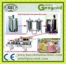 complete jelly / pudding snacks production line