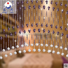 wholesale crystal beads curtain for door or window