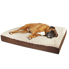 Large Deluxe Orthopedic Memory Foam Dog Bed