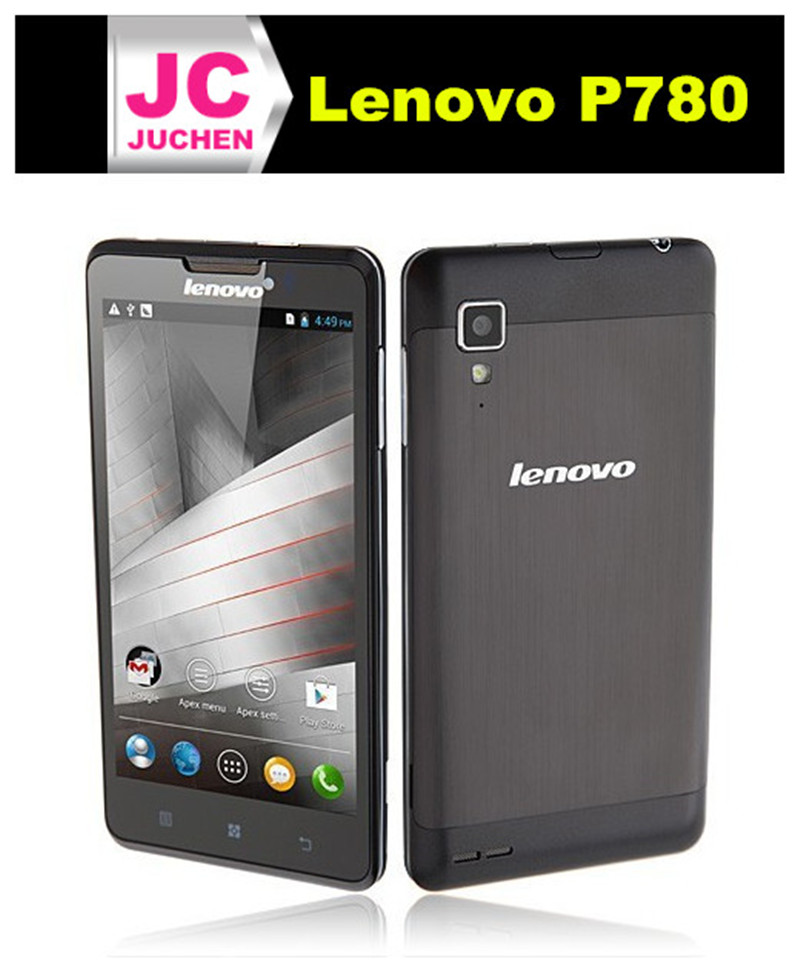 Wholesale Original Lenovo P780 Speed Android 4.2 Quad Core P780 Lenovo Smartphone 5.0inch 1280x720