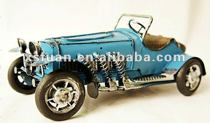 metal art decorative car model