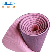 custom promotional items tpe rubber closed cell foam yoga mat
